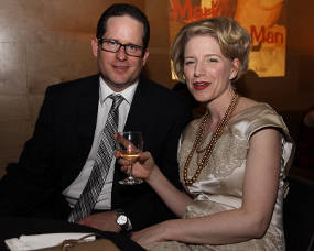 Mad Men partygoers