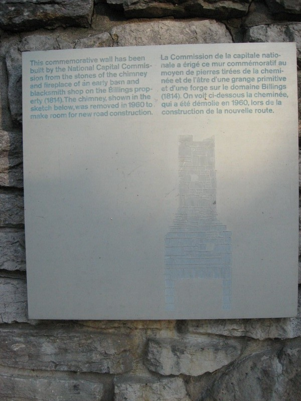 Plaque with image of chimney