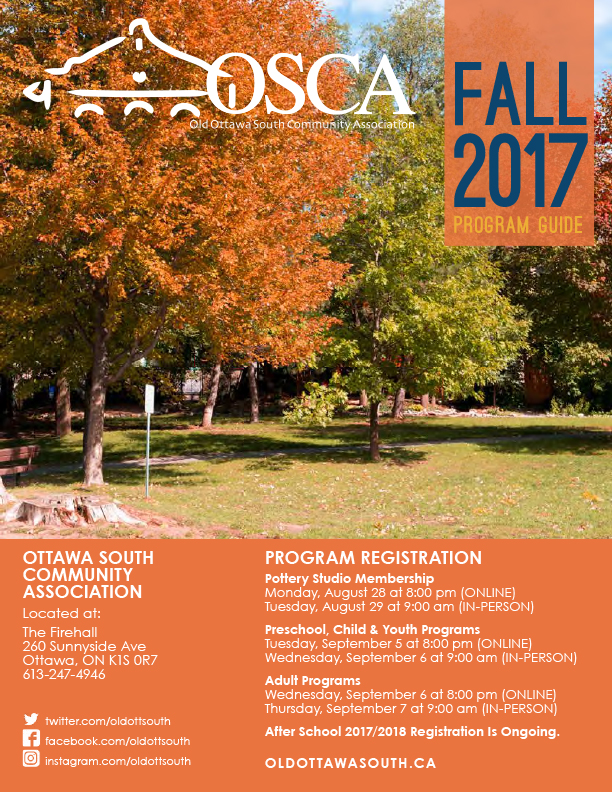 Fall 2017 Program Guide