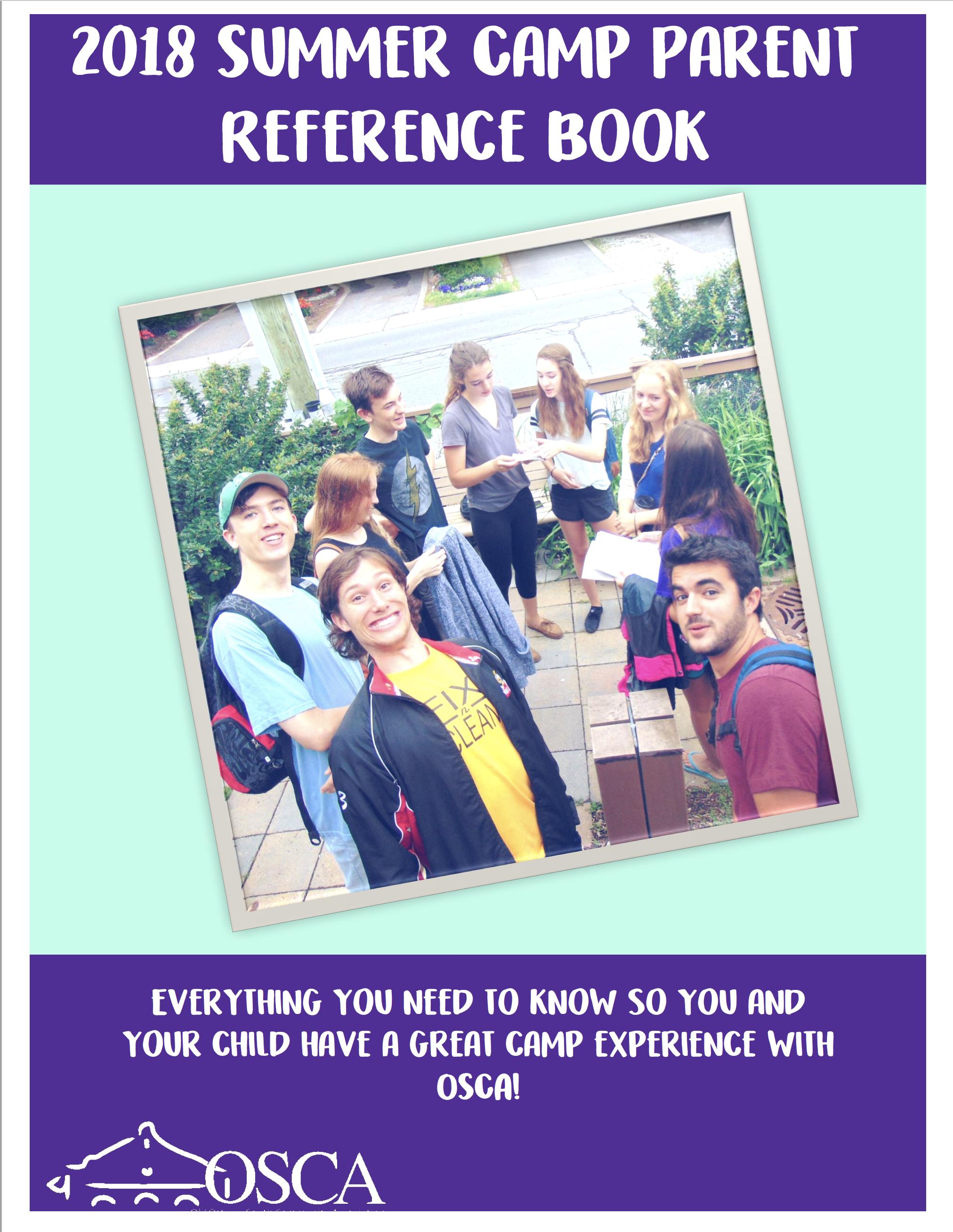 Summer Camp Parent Reference Booklet