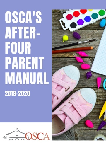 After-Four Parent Reference Book 2018-2019