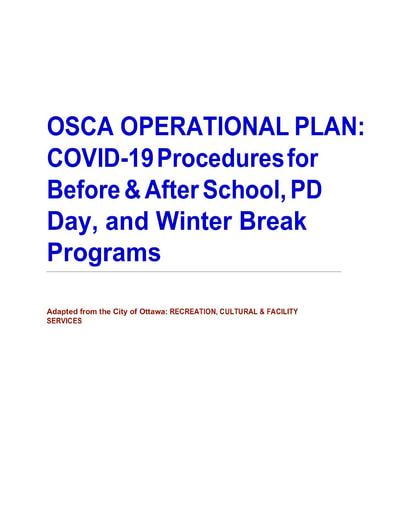 OSCA Adapted After-4 Operational Plan