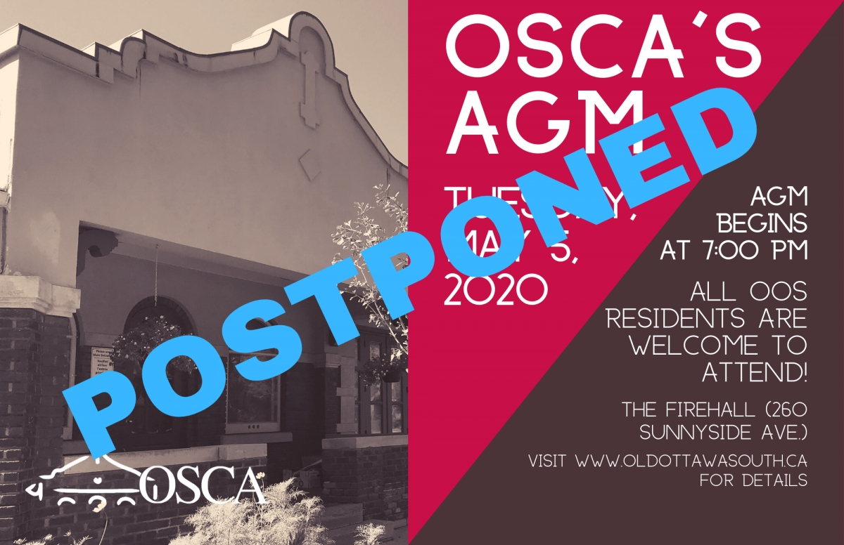 OSCA 2020 AGM Postponed Until Further Notice
