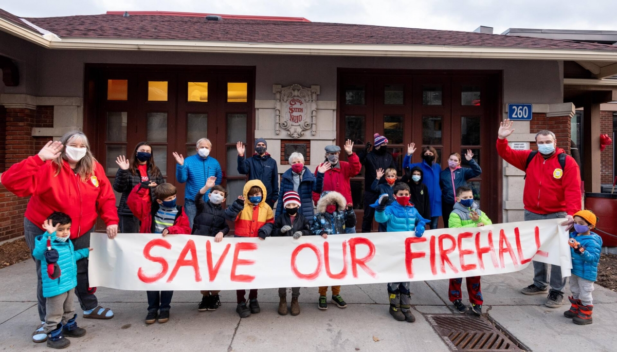 #RingTheBell and Save Our Firehall!