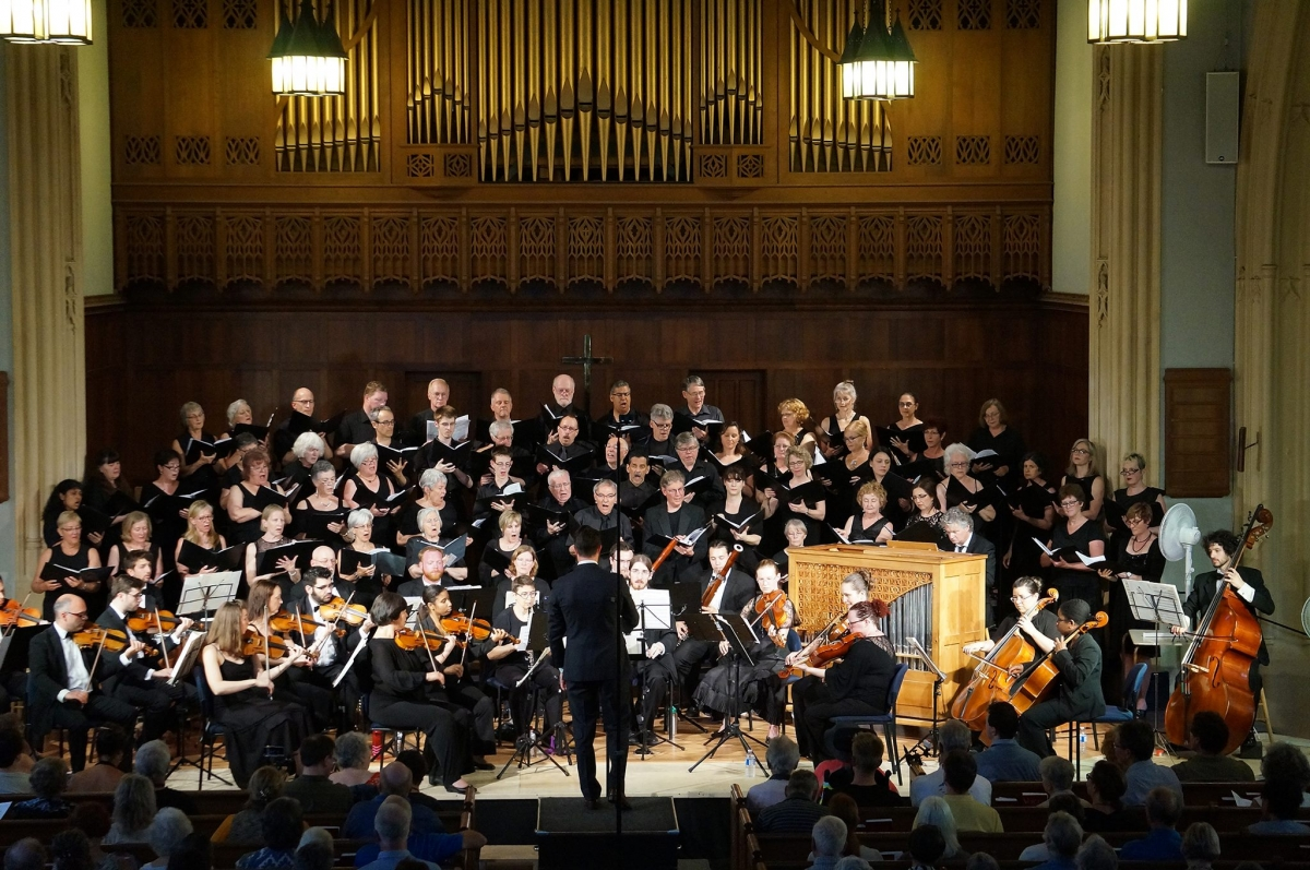 Rideau Chorale Presents an Evening of High Baroque Music