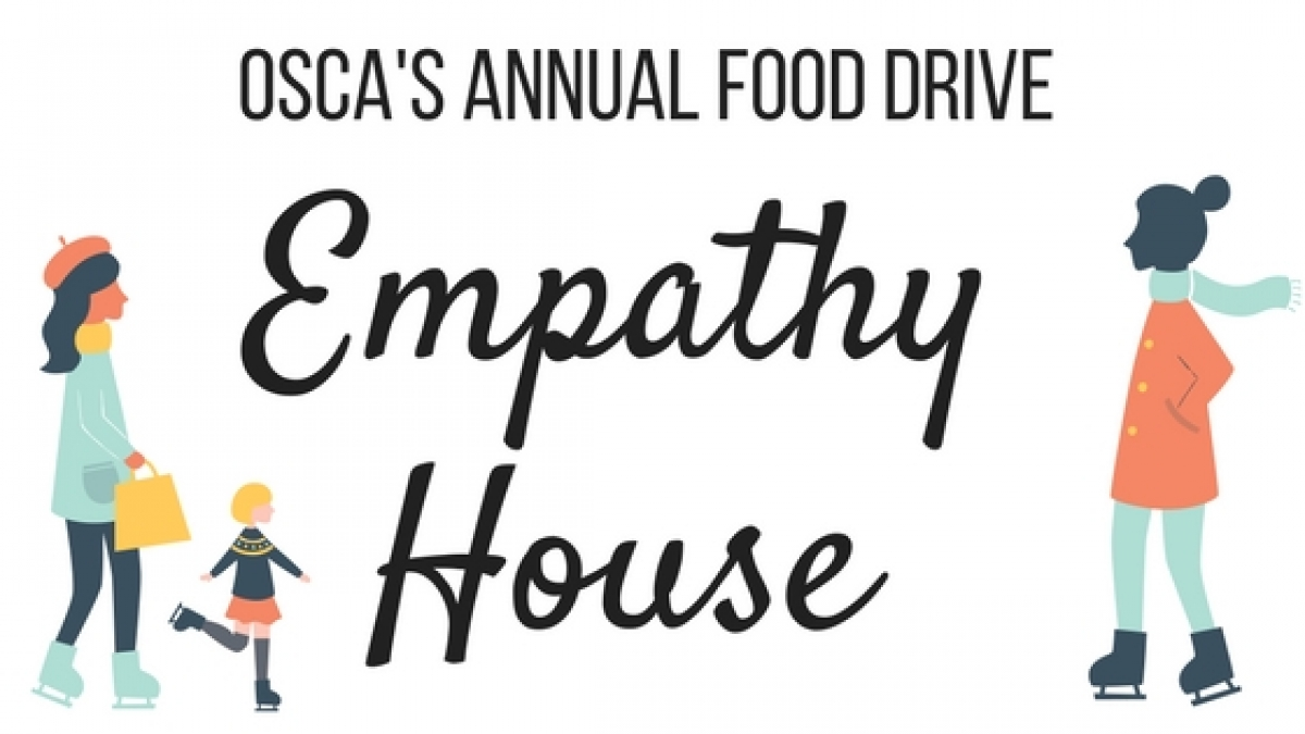 OSCA's Annual Food Drive for Empathy House