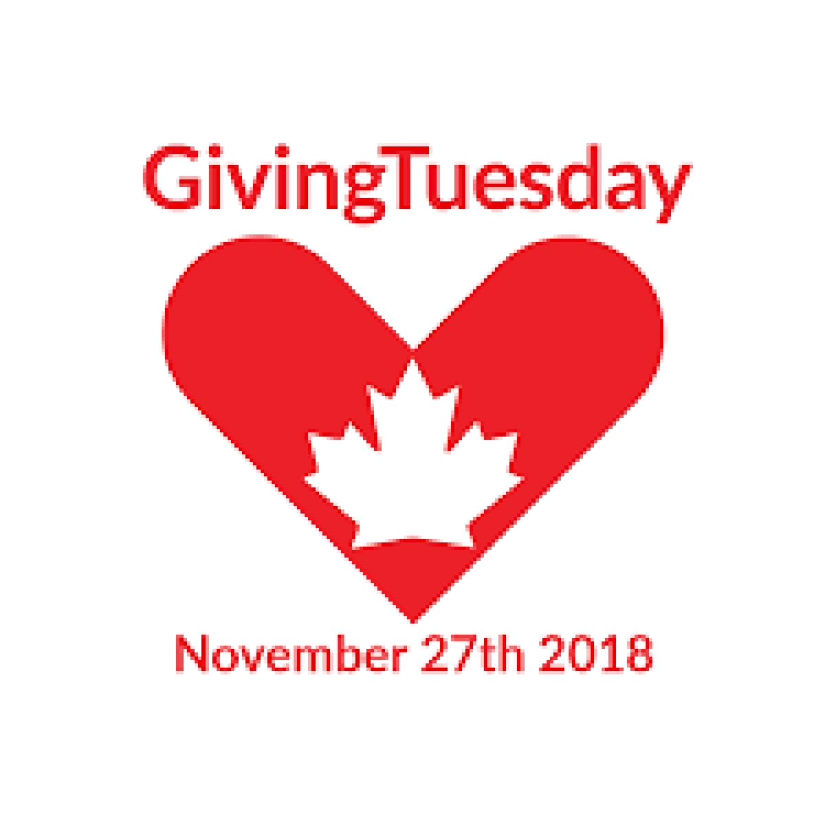 Giving Tuesday: November 27, 2018