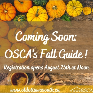 Fall Virtual Program Guide Coming Soon! Registration starts Aug 25th at Noon