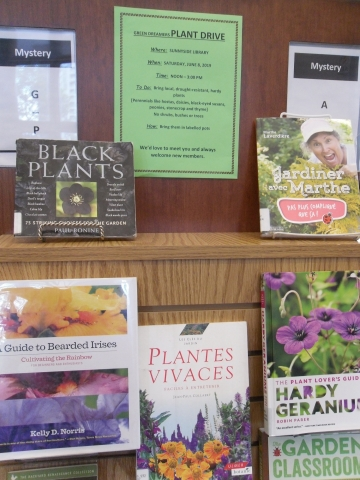 Green Dreamers Plant Drive at the Sunnyside Library