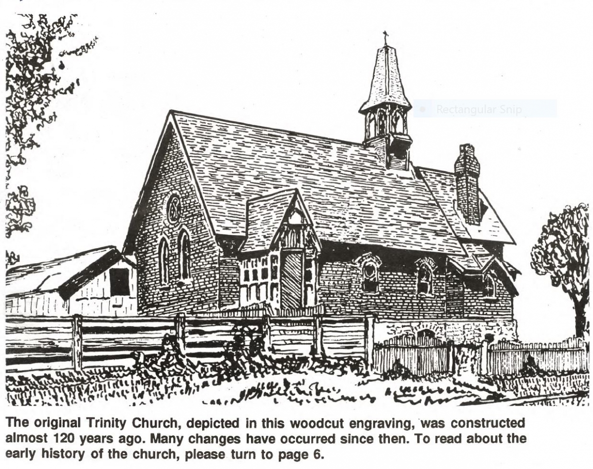 From the Archives: Early History of Trinity Church