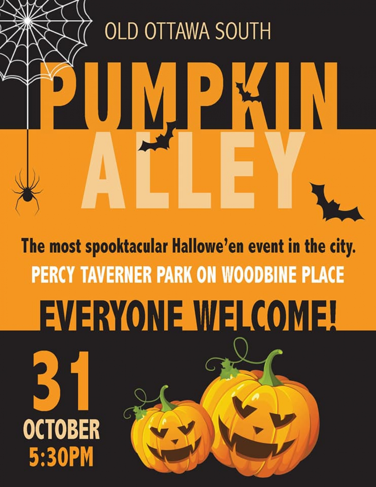 Pumpkin Alley Needs You!