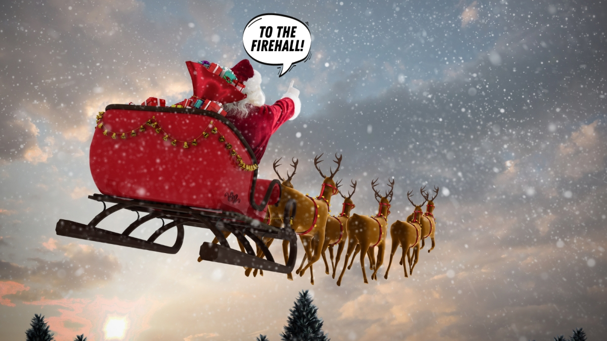 Santa is on his way to Old Ottawa South!