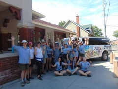 CISV PeaceBus visits the Old Firehall!