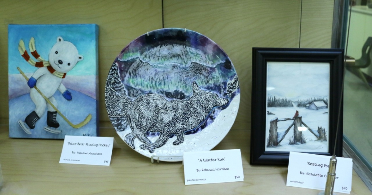 OSCA's Winter Art Show