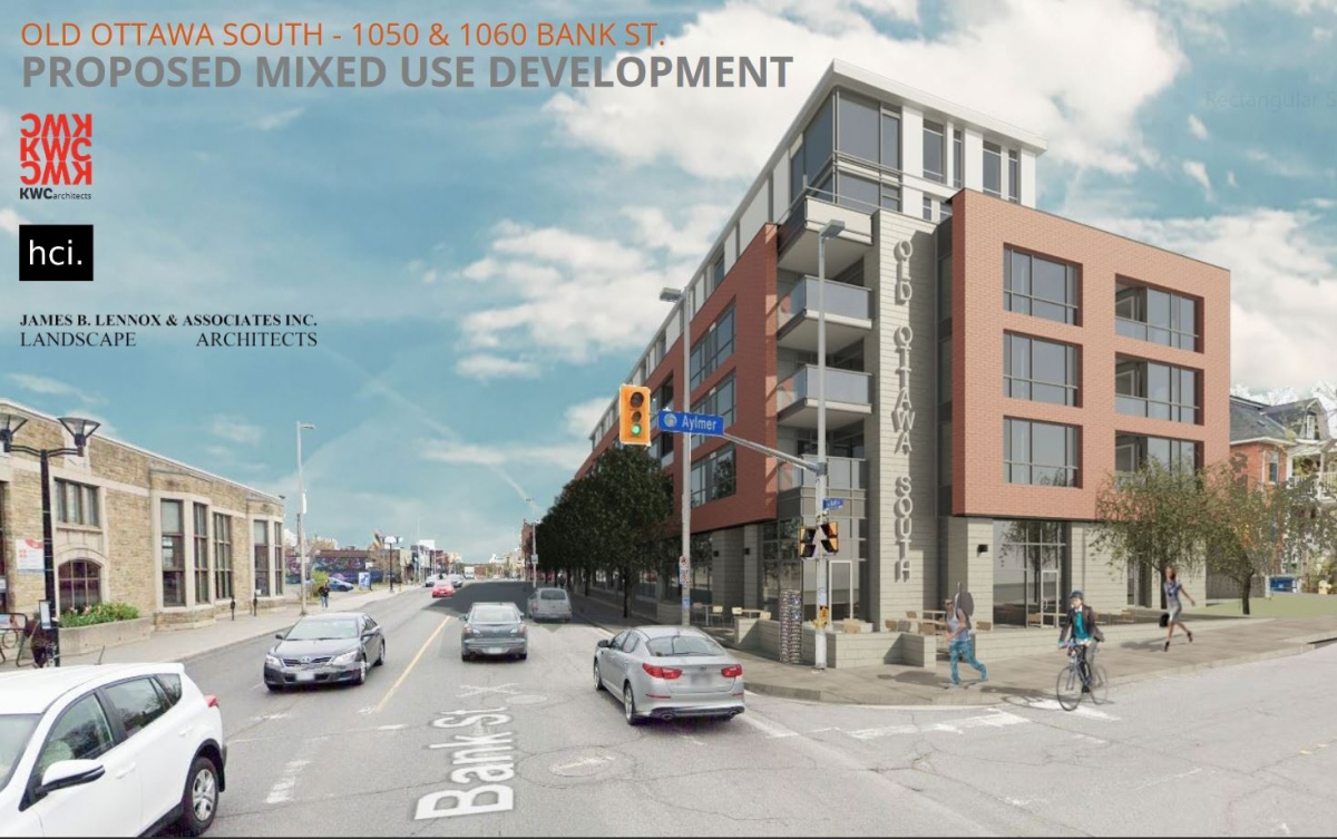 Plans for 1050-1060 Bank Street