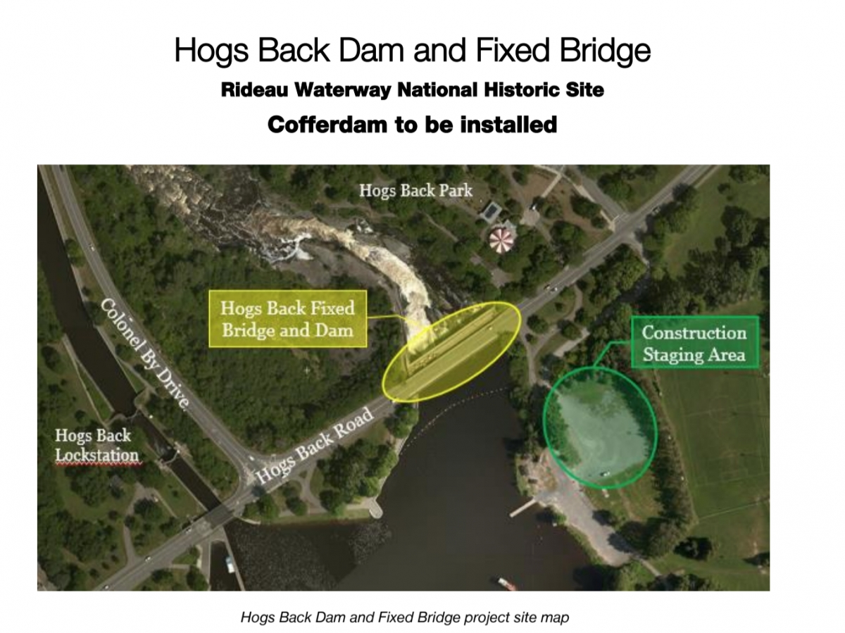 Hogs Back Dam and Fixed Bridge Rehabilitation