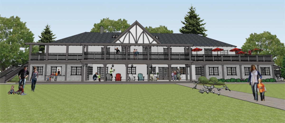 Tennis Club Serves Up Project to Restore 98 Year-Old Clubhouse
