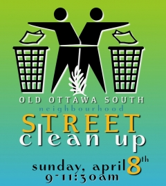 Old Ottawa South Street Clean Up!