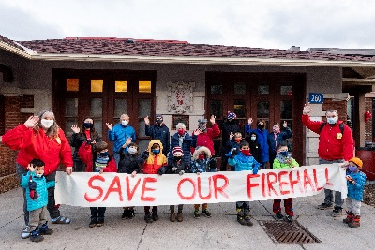 Save Our Firehall Campaign Update