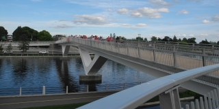 Flora Footbridge Community Opening