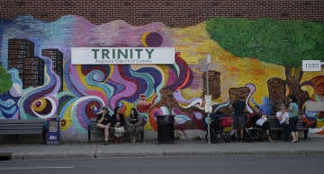 Trinity Church Mural Launch
