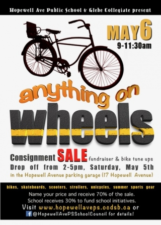 Hopewell PS Anything on Wheels Consignment Sale and Yard Clean Up